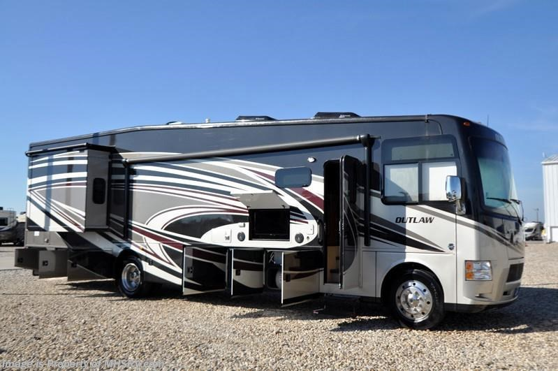 2016 Thor Motor Coach Rv Outlaw 38re Residency Edition