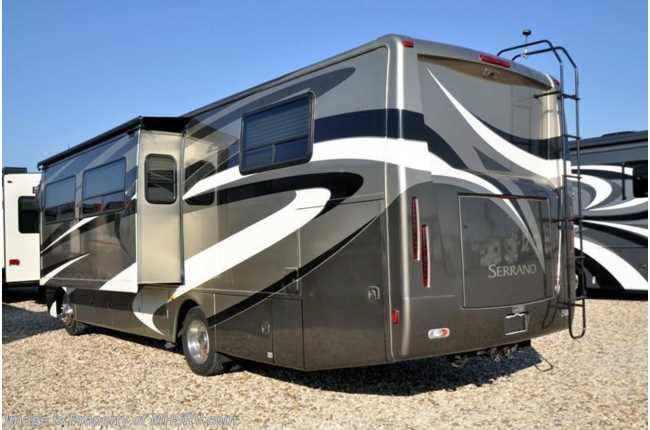 Used 2011 thor motor coach serrano for Class a rv height