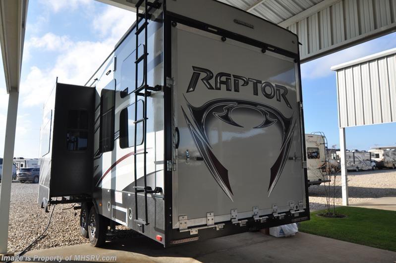 2015 Keystone Rv Raptor 300mp W 2 Slides Toy Hauler Bunk