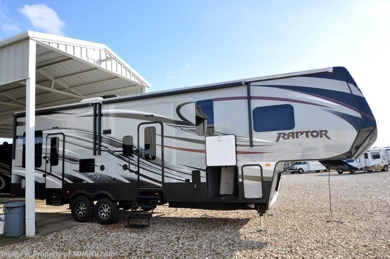 2015 Keystone Rv Raptor 300mp W 2 Slides Toy Hauler Bunk