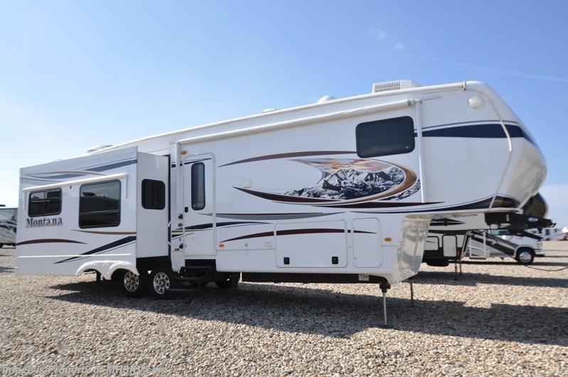 2012 Keystone Rv Montana 3402rl W 4 Slides Auto Leveling