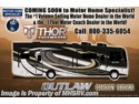 New 2018 Thor Motor Coach Outlaw 37RB Toy Hauler RV for Sale @ MHSRV W/Garage Sofa available in Alvarado, Texas