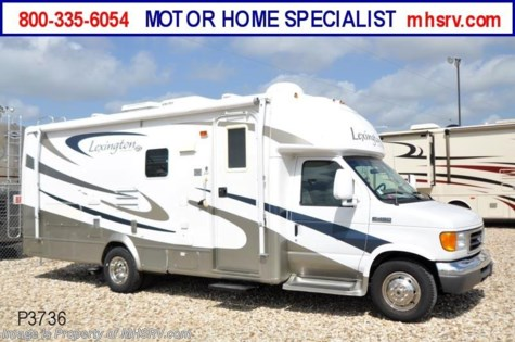Used 2007 Forest River Lexington W/2 Slides (255) Used RV For Sale For Sale by Motor Home Specialist available in Alvarado, Texas