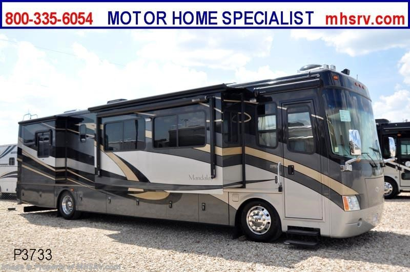 2006 mandalay rv w 4 slides 40f used rv for sale for for Motor home specialist inc alvarado texas