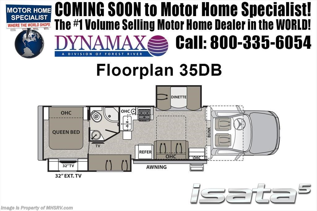 2018 Dynamax Corp Isata 5 Series 35DB Super C Bunk Model RV W/Theater Seats