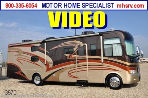 New 2011 Monaco Monarch W/2 Slides & Bunk Beds (34SBD) - New RV for Sale For Sale by Motor Home Specialist available in Alvarado, Texas