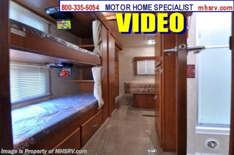 New 2011 Monaco Riptide New Bunk Model RV for Sale w/2 Slides (34SBD) For Sale by Motor Home Specialist available in Alvarado, Texas