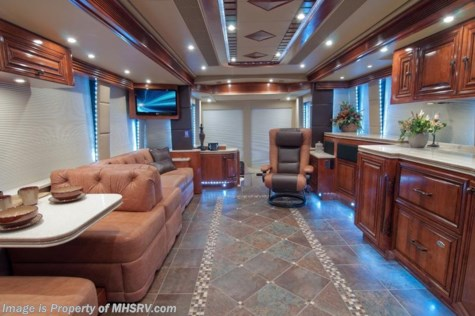 "New 2013 Prevost ""The Santa Fe\"" H3-45 Luxury Motorcoach For Sale For Sale by Motor Home Specialist available in Alvarado, Texas"
