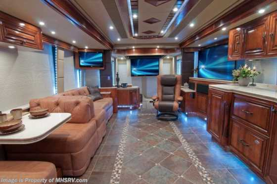 "New 2013 Prevost ""The Santa Fe"" H3-45 Luxury Motorcoach For Sale Floorplan"