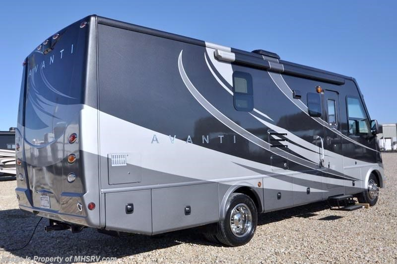 Full Wall Slide Dry Bath Camper: 2011 Thor Motor Coach RV Avanti Full Wall Slide (2806