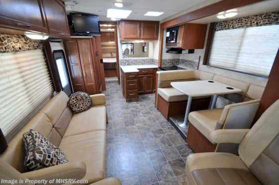Used 2012 Thor Motor Coach A.C.E. W/Slide (29.1) Used RV For Sale Floorplan
