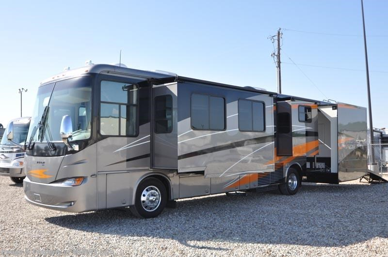 Popular 2011 Thor Motor Coach Outlaw Toy Hauler RV For Sale With Slide  5411