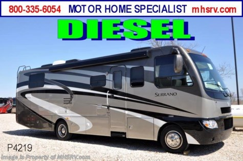 Used 2011 Four Winds International Serrano W/ Slides (31Z) Used RV For Sale For Sale by Motor Home Specialist available in Alvarado, Texas