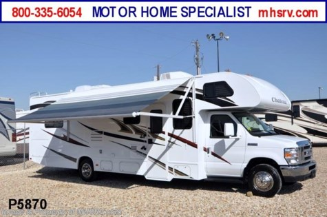 Used 2012 Thor Motor Coach Chateau W/Slide-Out (31P) Class C RV for Sale For Sale by Motor Home Specialist available in Alvarado, Texas