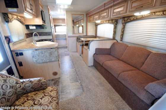 Used 2012 Thor Motor Coach Chateau W/Slide-Out (31P) Class C RV for Sale Floorplan