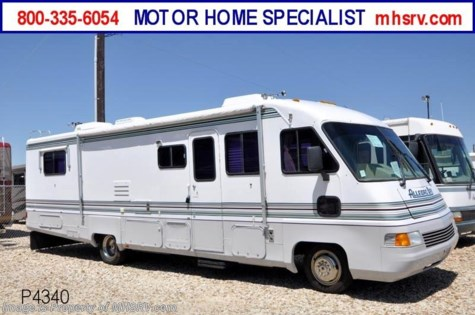 Used 1995 Tiffin Allegro Bay W/ Slide (RDS34) Used RV For Sale For Sale by Motor Home Specialist available in Alvarado, Texas