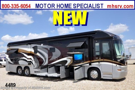 New 2012 Entegra Coach Cornerstone 45DLQ 600 HP Luxury RV for Sale For Sale by Motor Home Specialist available in Alvarado, Texas