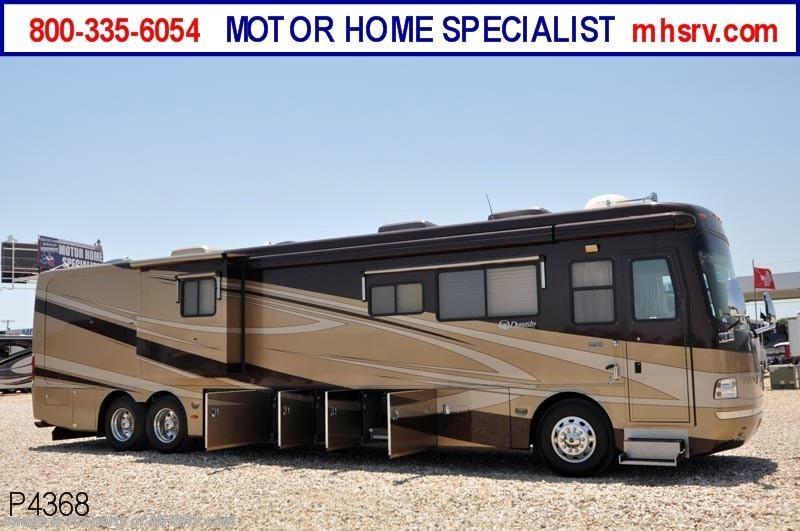 2007 monaco rv rv dynasty w 3 slides king iii used rv for Motor home specialist inc alvarado texas