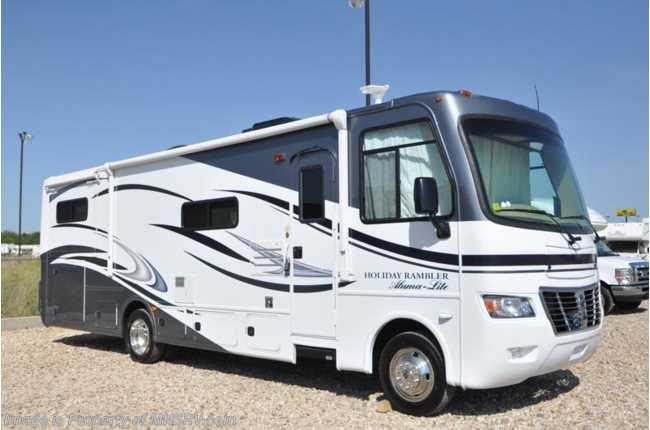 New 2012 holiday rambler aluma lite for Class a rv height