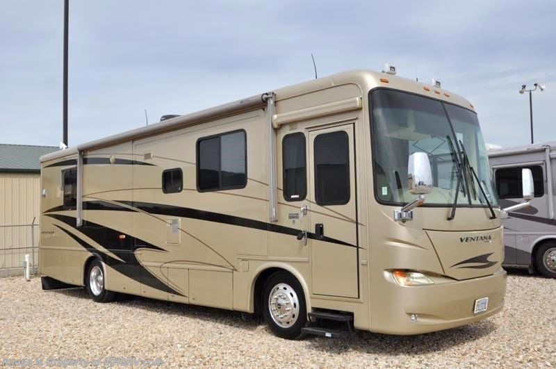 2006 newmar rv ventana w 3 slides 3631 used rv for sale for Motor homes for sale in texas