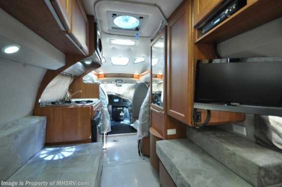 New 2012 Roadtrek 190-Simplicity Class B RV for Sale Floorplan