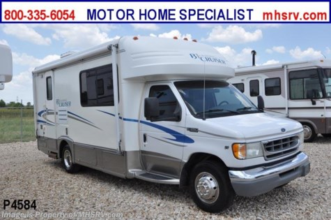 Used 2003 Gulf Stream Conquest B-Touring Cruiser W/ Slide (5230) Used Class C RV For Sale For Sale by Motor Home Specialist available in Alvarado, Texas