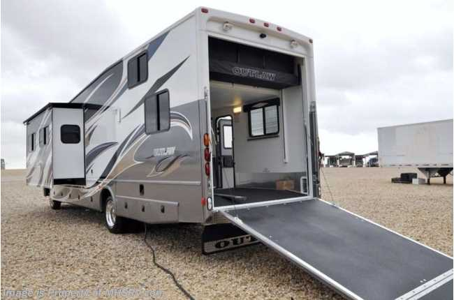 New 2012 thor motor coach outlaw for Motorized toy hauler rv for sale