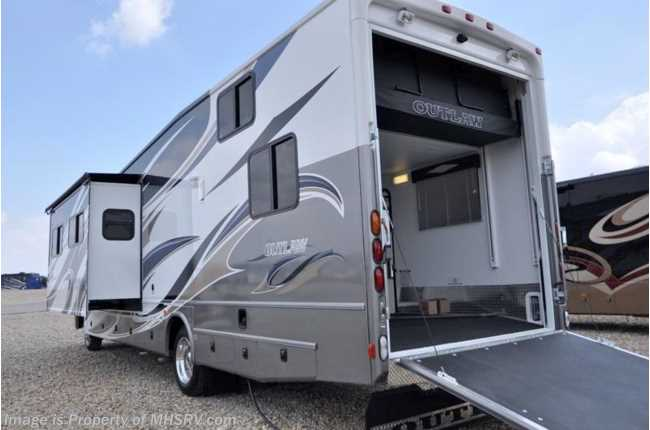 New 2012 thor motor coach outlaw for Class a rv height