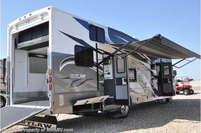 New 2012 thor motor coach outlaw for Class a rv with car garage