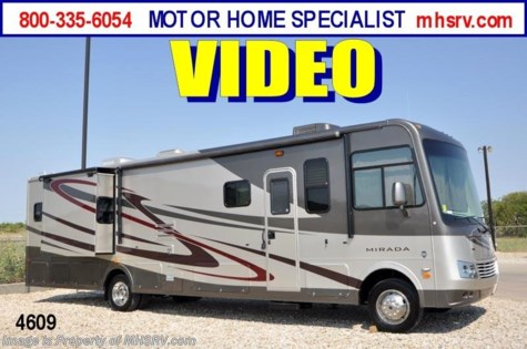 New 2012 Coachmen Mirada Bath & 1/2 RV for Sale W/2 Slides (35DS) For Sale by Motor Home Specialist available in Alvarado, Texas
