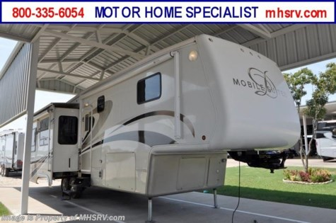 New 2008 DRV Mobile Suites W/3 Slides (36RSSB) Used RV For Sale For Sale by Motor Home Specialist available in Alvarado, Texas