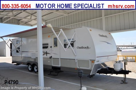 Used 2008 Keystone Outback W/ Bunk Beds and Slide (30QBHS) Used RV For Sale For Sale by Motor Home Specialist available in Alvarado, Texas