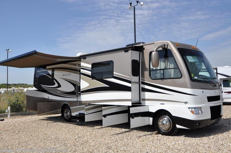 2011 thor motor coach rv serrano 33a w 3 slides diesel for Diesel motor homes for sale