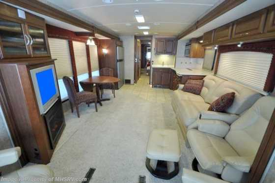 Used 2007 Winnebago Tour W/4 Slides (40FD) Used RV For Sale Floorplan