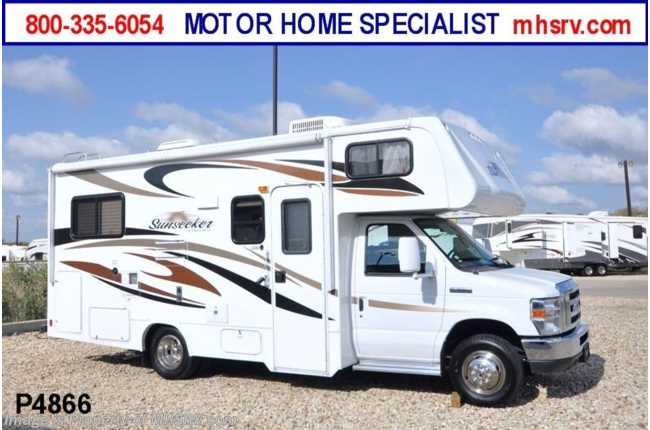 Used 2012 forest river sunseeker for Used motor homes for sale