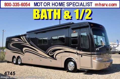 New 2011 Monaco Camelot 43DFT Bath & 1/2 Luxury Diesel RV for Sale For Sale by Motor Home Specialist available in Alvarado, Texas