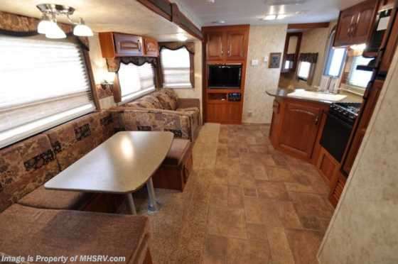 Used 2011 Keystone Cougar W/2 Slides (31SQB) Used Bunk House RV For Sale Floorplan