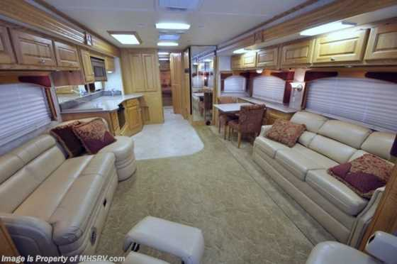 Used 2005 Monaco RV Diplomat W/4 Slides (40PRQ) Used RV For Sale Floorplan