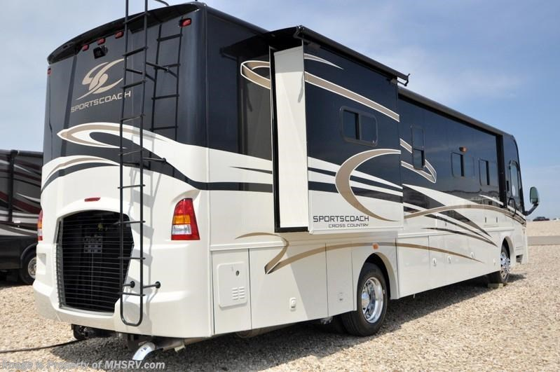 2013 sportscoach rv cross country diesel bunk house rv for for Diesel motor homes for sale