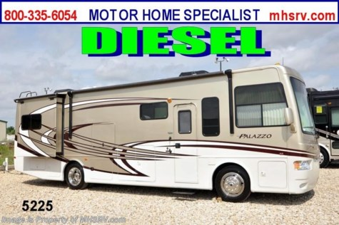 New 2013 Thor Motor Coach Palazzo (33.1) Diesel RV for Sale W/2 Slides For Sale by Motor Home Specialist available in Alvarado, Texas