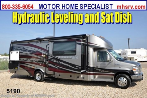 New 2013 Coachmen Concord Class C RV W/3 Slides/Jacks/Sat/Wheels For Sale by Motor Home Specialist available in Alvarado, Texas