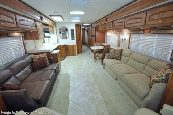 Used 2007 Holiday Rambler Endeavor W/3 Slides (40SFT) Used RV For Sale Floorplan