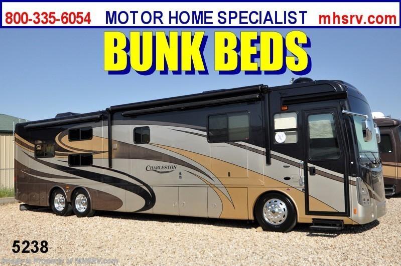 2013 forest river rv charleston luxury bunk model rv w tag for Motor home specialist inc alvarado texas