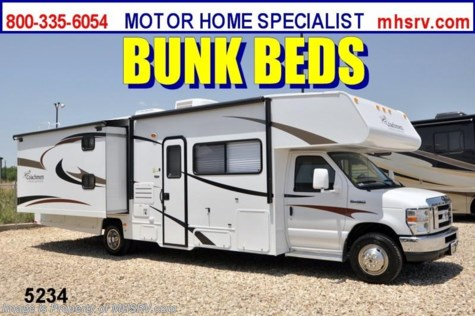 New 2013 Coachmen Freelander  Class C RV for Sale W/Bunk Beds & 2 Slides For Sale by Motor Home Specialist available in Alvarado, Texas