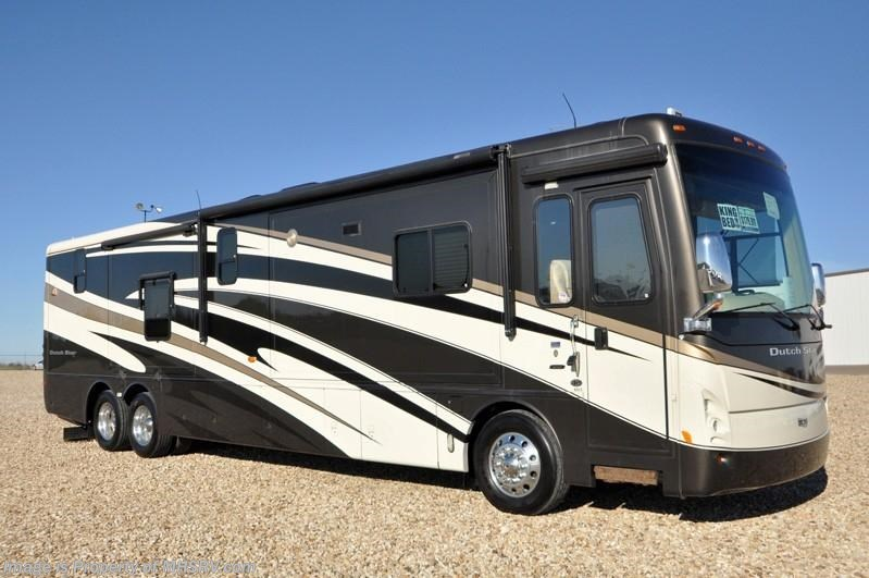 2008 newmar rv dutch star w 4 slides 4317 used rv for for Motor homes for sale in texas