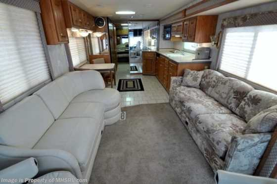 Used 2000 Monaco RV Diplomat W/ Slide (38A) Used RV For Sale Floorplan