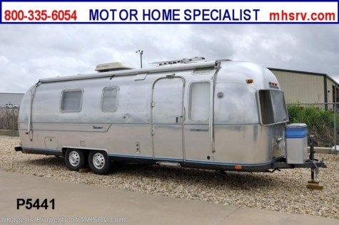 Used 1979 Airstream International Ambassador Land Yacht For Sale by Motor Home Specialist available in Alvarado, Texas