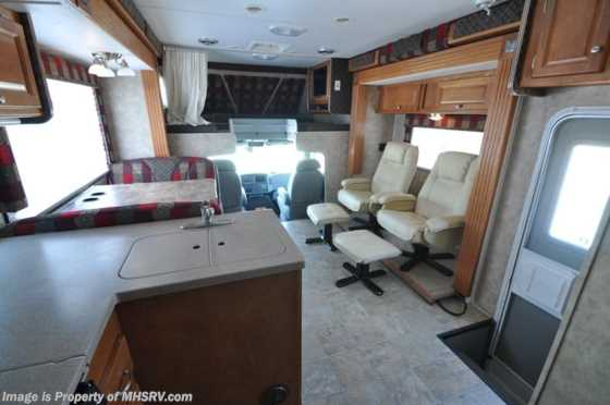 Used 2008 Gulf Stream Gladiator Super C Diesel Toy Hauler Floorplan