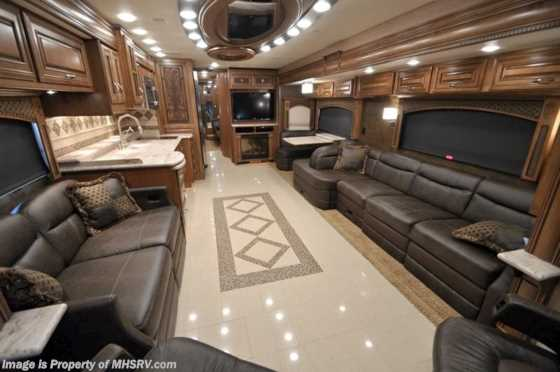 Used 2012 Entegra Coach Anthem W/4 Slides (42DLQ) Luxury RV For Sale Floorplan