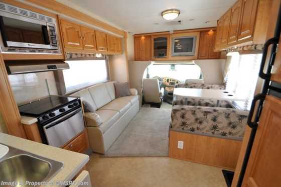 Used 2007 Forest River Forester W/ Slide (3160) Used RV For Sale Floorplan